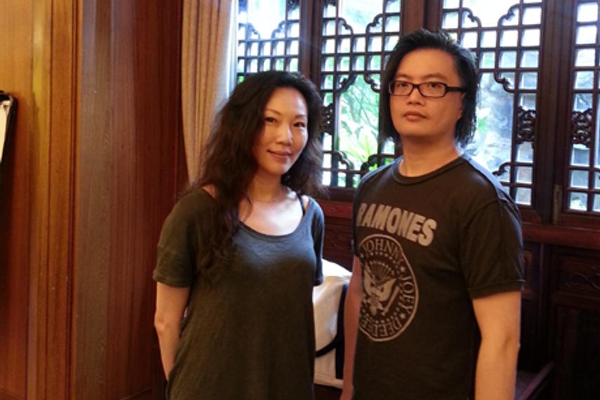 Josephine Tsai (L), Antonius Chen (R)