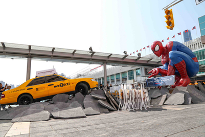 Harbour City snares Spider-Man fans in advance of May movie release
