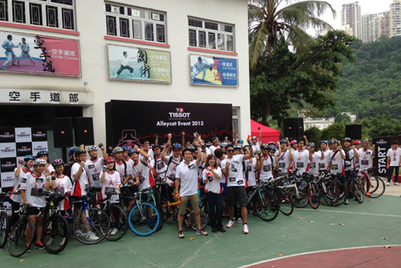 Tissot organises first AlleyCat cycling fun day in Hong Kong