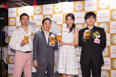 No more warm draft beer in summer: Kirin debuts Frozen Beer in Hong Kong