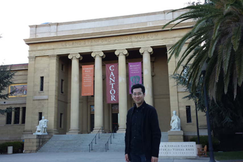 Simon Shing at Stanford (image provided by Shing)