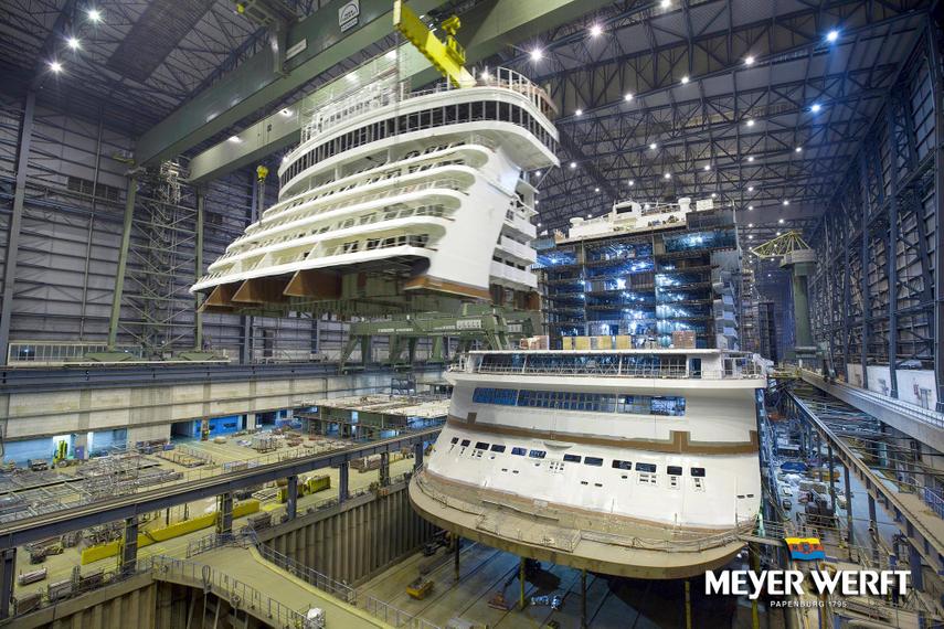 German shipbuilder Meyer Werft is behind Dream Cruises' first ship for Asia