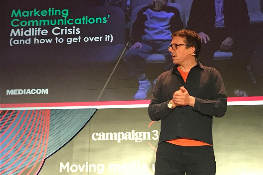 FRONT STAGE PASS: Exclusive access to some of Campaign360's best on-stage sessions. Here, Mediacom global strategy chief Matt Mee explains why marketing communications is facing self-doubt and how the industry can overcome it.