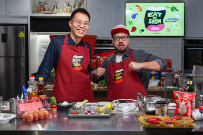 'Eat this show': Redmart and TSLA deliver dishes to viewers