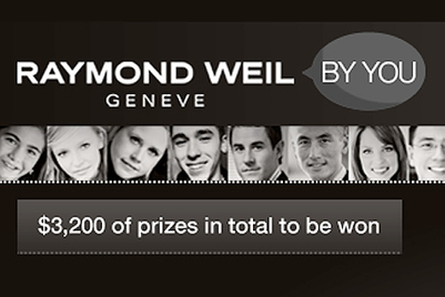 Raymond Weil Geneve banks on social media for new campaign