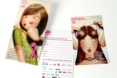 DDB promotes breast cancer awareness in Singapore