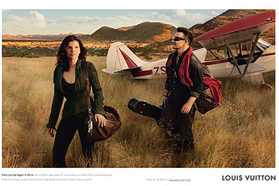 U2's Bono and wife Ali Hewson to star in Louis Vuitton 'Core values' campaign