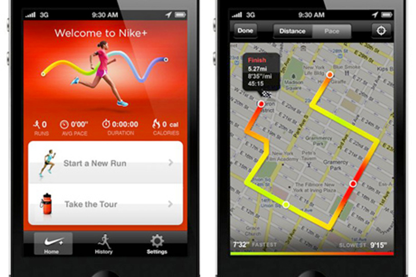 Nike launches app with GPS system for running fanatics