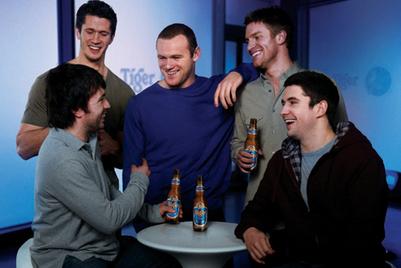 Tiger Beer drops Wayne Rooney TVC
