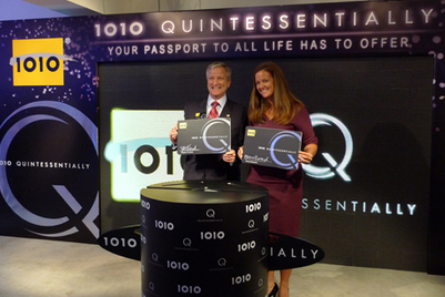 CSL 1O1O and Quintessentially form Hong Kong's first mobile luxury concierge service