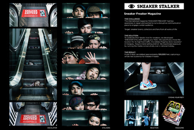 CASE STUDY: Sneaker Freaker magazine 'stalks' 100,000 people in Japan