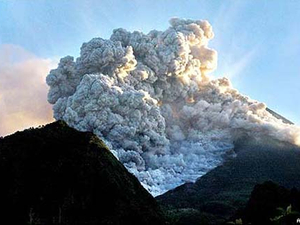 Indonesian tobacco firm's branded volcano relief efforts sparks angry reaction