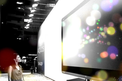Sharp Quattron TV campaign claims LCD TVs are outdated
