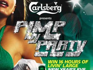 Carlsberg gears up to the New Year with a pimped out party