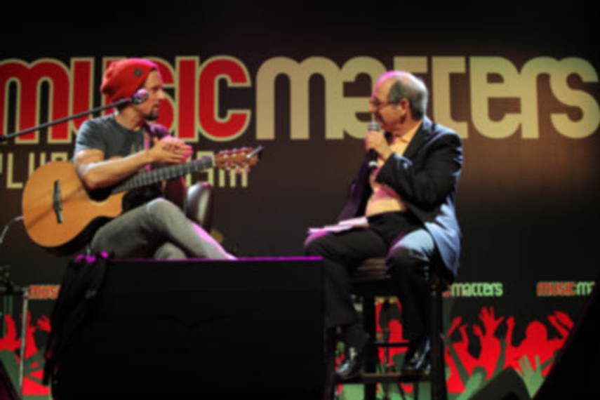 Previous speakers at Music Matters include Jason Mraz