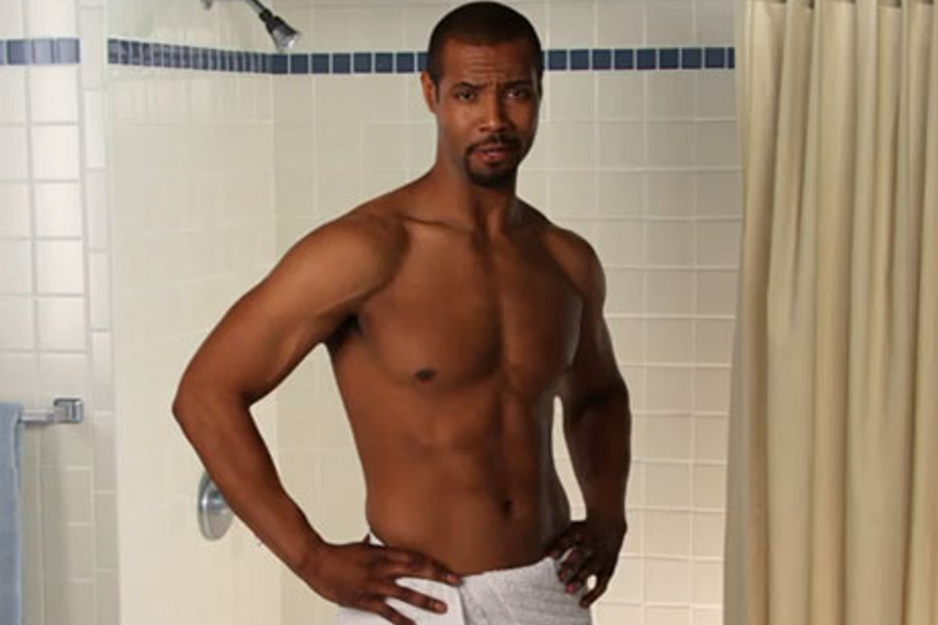 The Old Spice guy Isaiah Mustafa is back.
