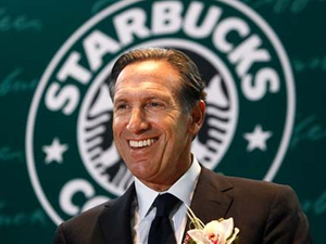 Starbucks chief Schultz to lend expertise to Groupon