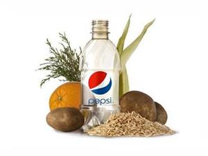 PepsiCo creates world's first plastic 'green' bottle