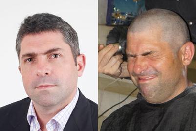 TBWA's Philip Brett goes bald for tsunami victims