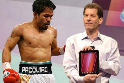 HP becomes Pacquiao's first global endorsement deal