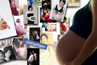 CASE STUDY: Malaysian mothers flaunt their 'bump'
