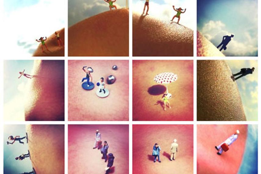 Neutrogena's photo-mob montage on Instagram