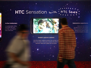 HTC rolls out latest Sensation smartphone with OOH campaign