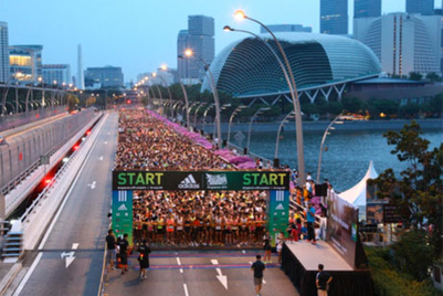 adidas holds inaugural 'King of the Road' race in Singapore