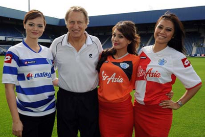 Malaysia Airlines and Air Asia make their mark at QPR