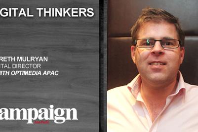 Digital Thinkers: Gareth Mulryan, digital director Zenith Optimedia APAC