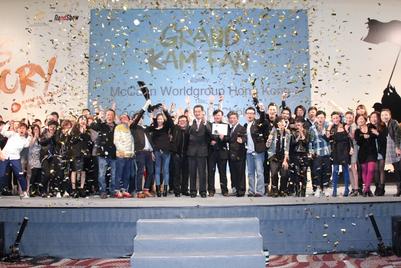 McCann takes crowning glory at the Hong Kong Kam Fan Awards 2011