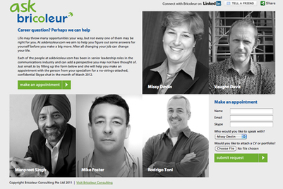 Website provides access to senior agency leaders for career advice