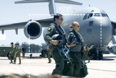 Air Force recruitment film invites interaction 'Anytime, anywhere'