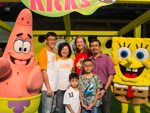 Nickelodeon hosts 'Slime Cup' event in Singapore