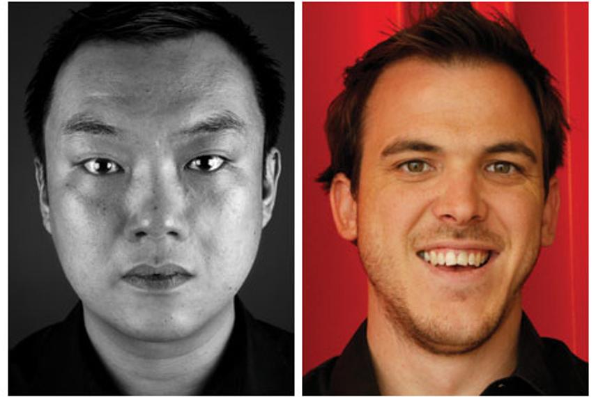 L-R: Nik Lim, Nic Hodges