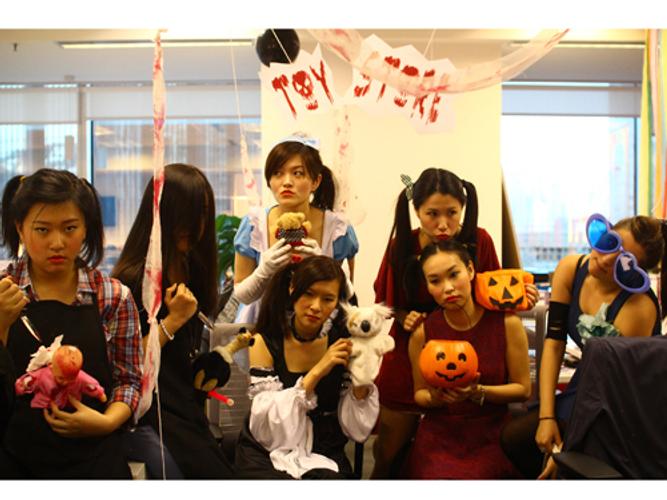 Edelman Hong Kong's Halloween gathering