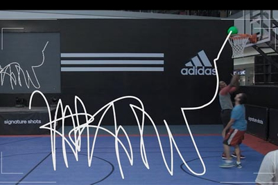 Adidas immortalises fans' defeat at hands of NBA star Dwight Howard