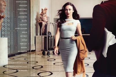 Waldorf Astoria introduces Olga Kurylenko as face of global campaign