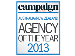 2013 Agency of the Year winners: Australia and New Zealand