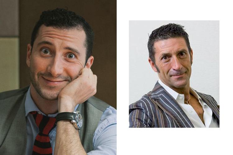 Left: Nico Abbruzzese of Maxus<br /> Right: Italian native, Japanese TV personality, and Leon magazine cover boy Girolamo Panzetta