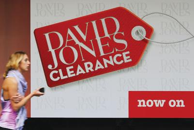David Jones in battle to stay afloat