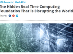 The Hidden Real Time Computing Foundation That is Disrupting the World