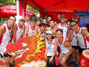 Highlights from San Miguel's dragon boat beerfest