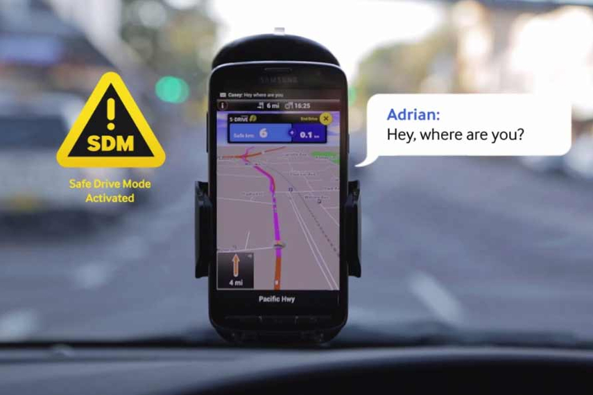 Samsung and Leo Burnett launched an application to turn a distraction on the road to a life-saving tool