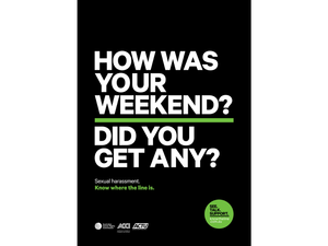 Campaign shows line between acceptable behaviour and sexual harassment
