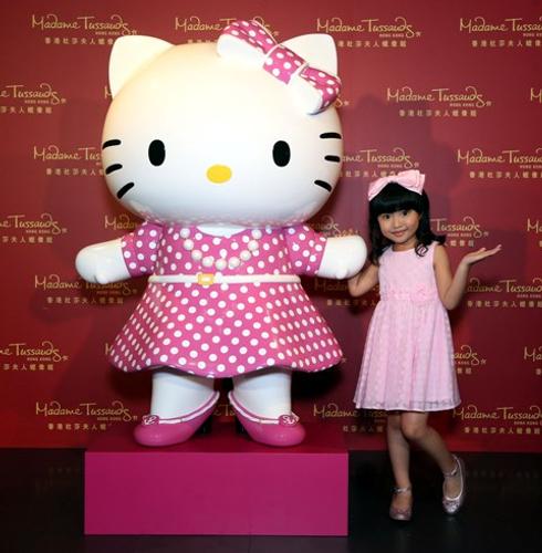 180万港币塑造Hello Kitty赝品: 杜莎夫人疯了么?!