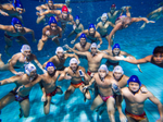 OtterBox gives Singapore water polo teams phone cases, takes photos