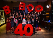 BBDO celebrates 40 years in Hong Kong