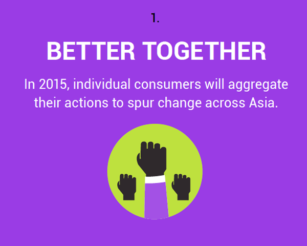 10 trends that will shape Asian consumerism in 2015