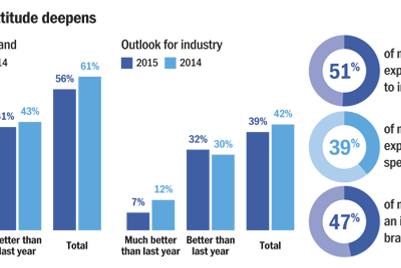 2015 Marketers' Outlook: Infographics